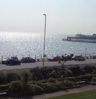 Best sea-view cafe in Hastings?