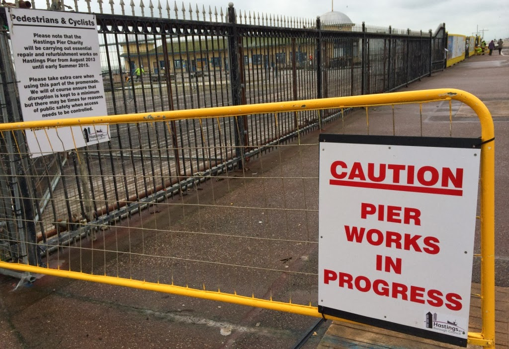 Hastings Pier restoration gets under way