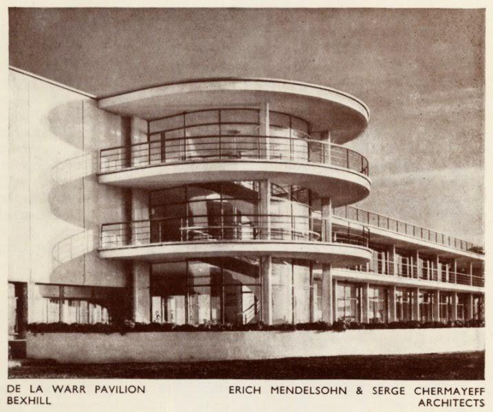 The De La Warr Pavilion, and a walk round Bexhill