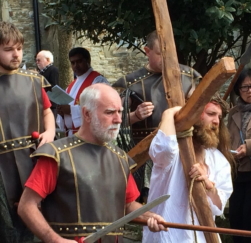 Good Friday Procession in Hastings Old Town – and general Easter thoughts.