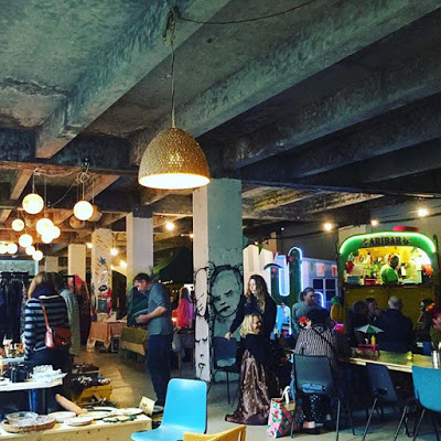 Hipster cool in Hastings, Rules Restaurant and almost a media luvvie…
