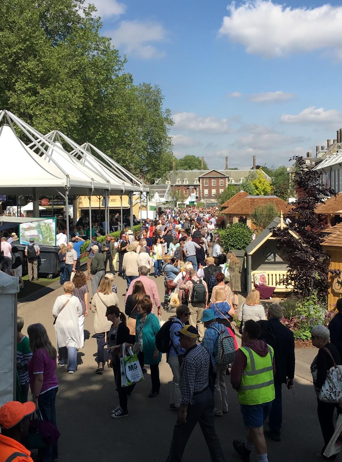 Hastings Battleaxe hits the Chelsea Flower Show.