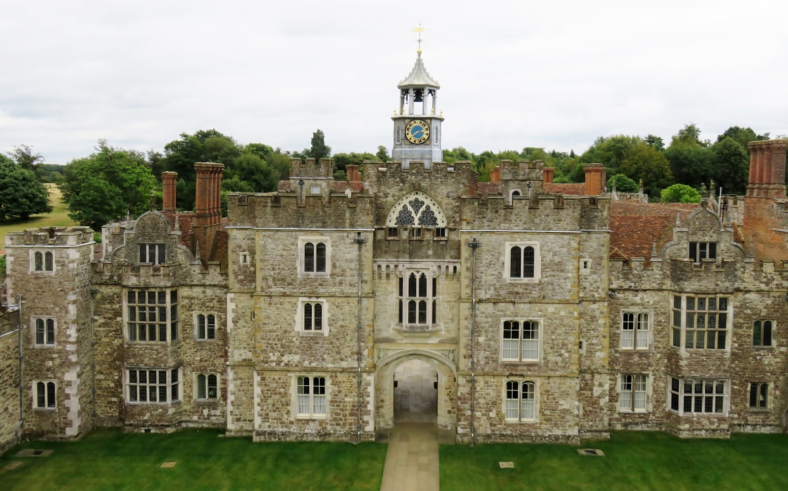 Knole House, Sevenoaks – and meeting a Battleaxe fan!