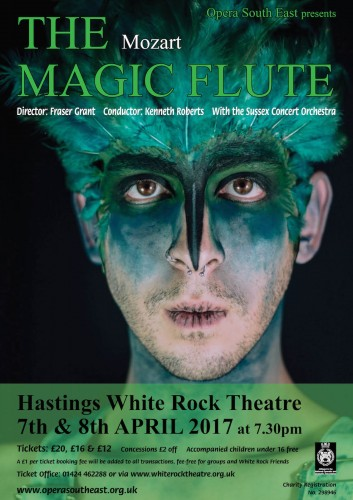Opera South-East's 'The Magic Flute' at the Hastings White Rock