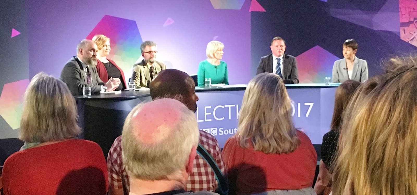 Battleaxe goes to a BBC politics thing – too heated