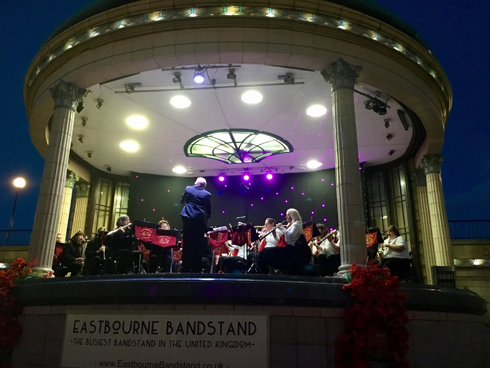 Home again… Eastbourne Bandstand, reflections on Turkey….