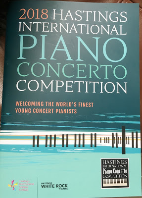 Hastings International Piano Competition - and the Beast from the