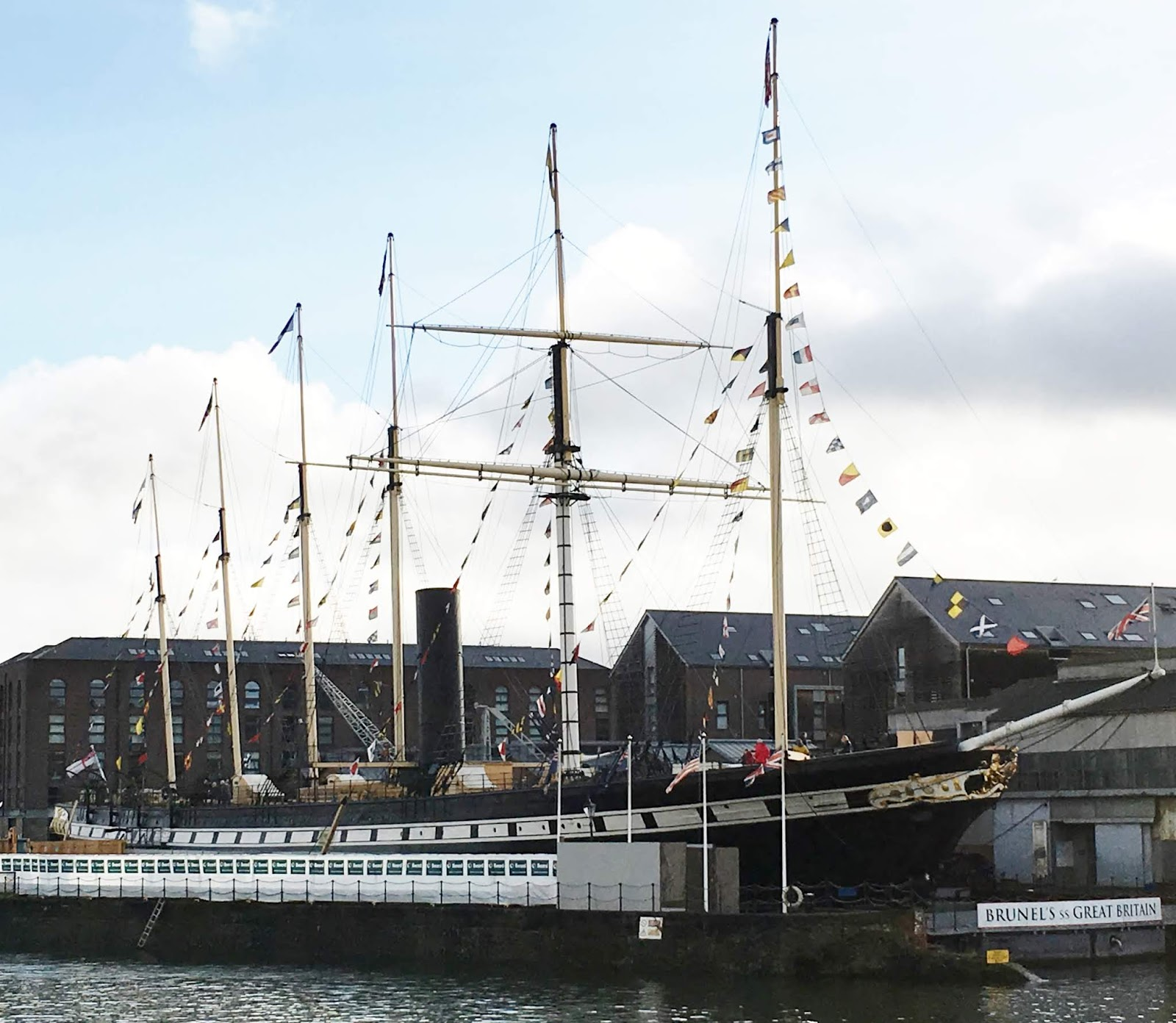 Battleaxe in Bristol – enjoyed the SS Great Britain