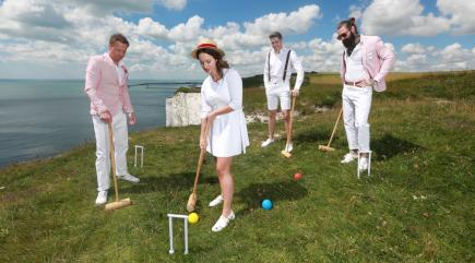 Croquet – just the game for Hastings Battleaxe and the WI