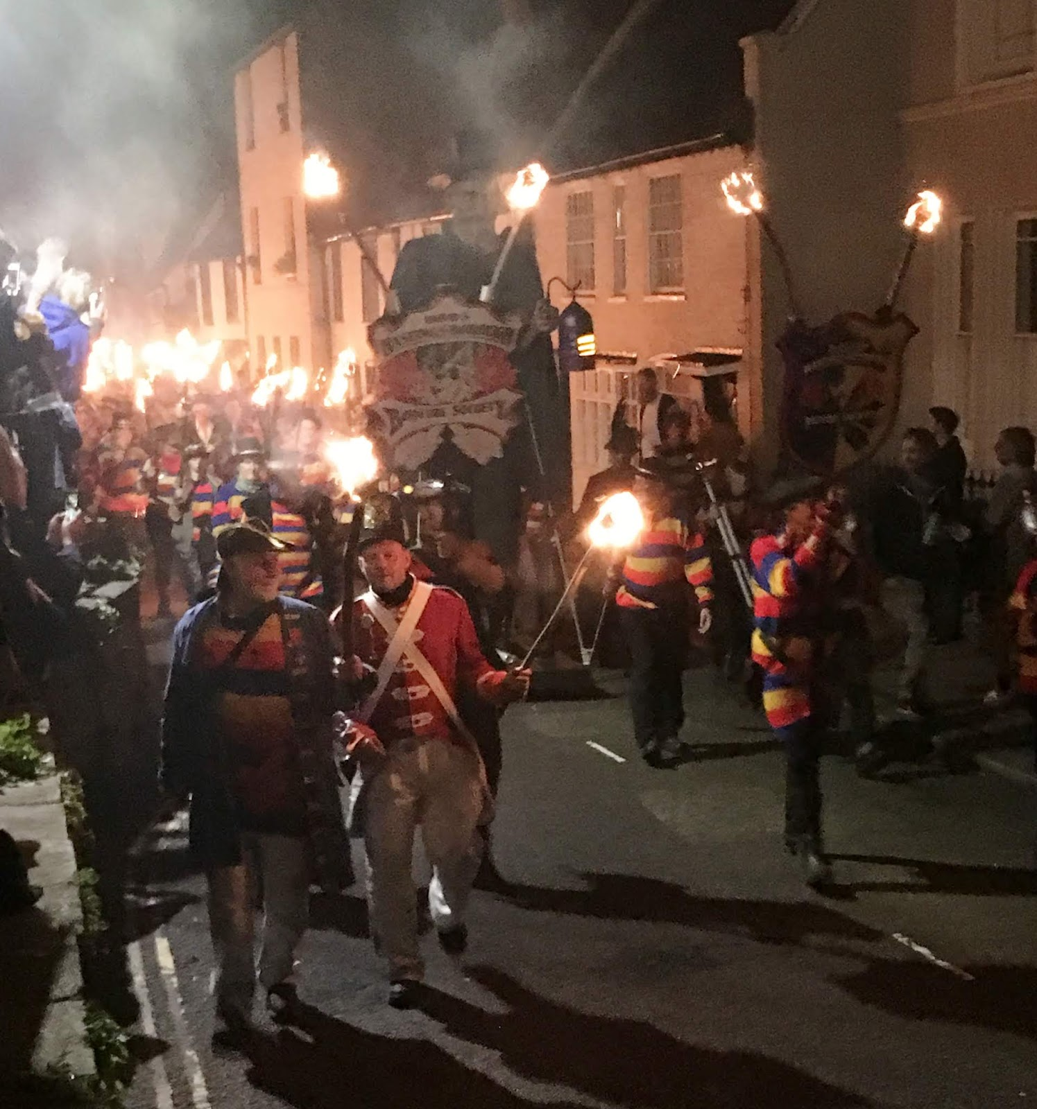 Hastings Battleaxe braves the Hastings Bonfire… and welcomes the new lifeboat