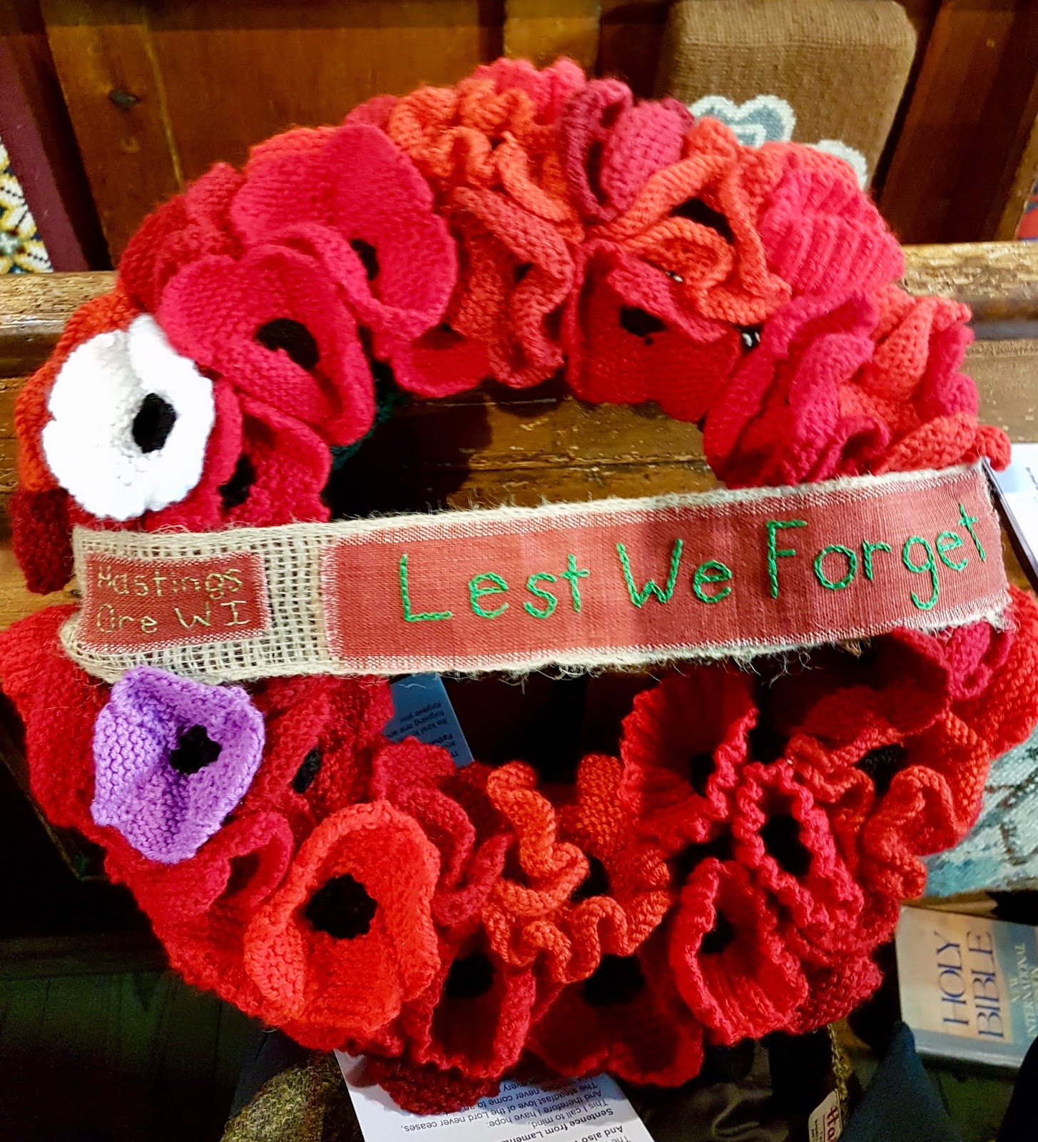 Armistice Day 2018 with the WI – Battleaxe takes part
