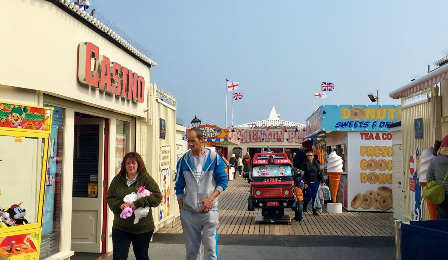 A tale of three places – Paignton, Poundbury and Hastings Pier