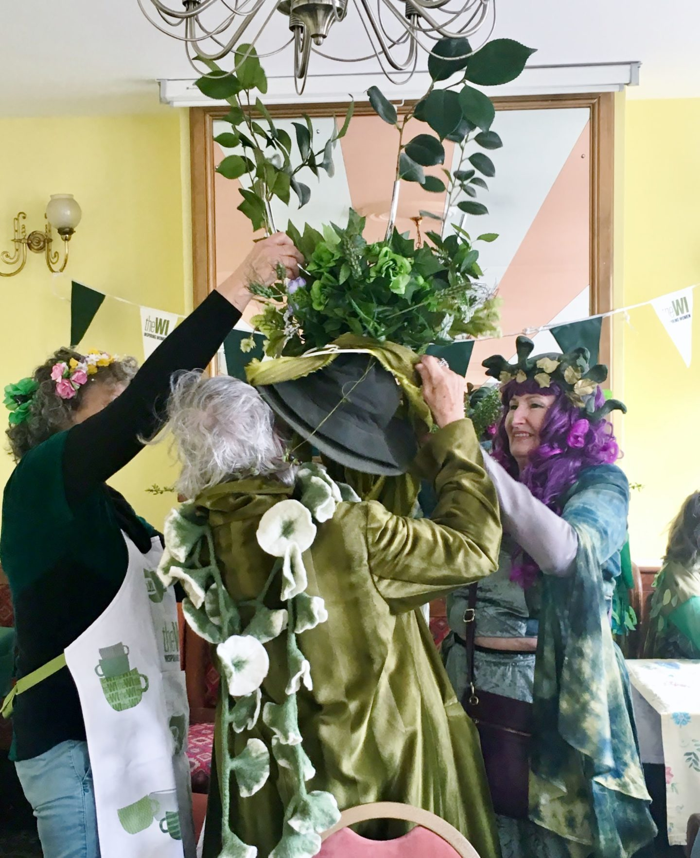 Hastings Jack-in-the-Green with the WI – again!