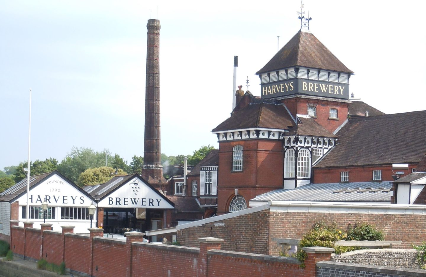 Tour of Harvey's Brewery in Lewes