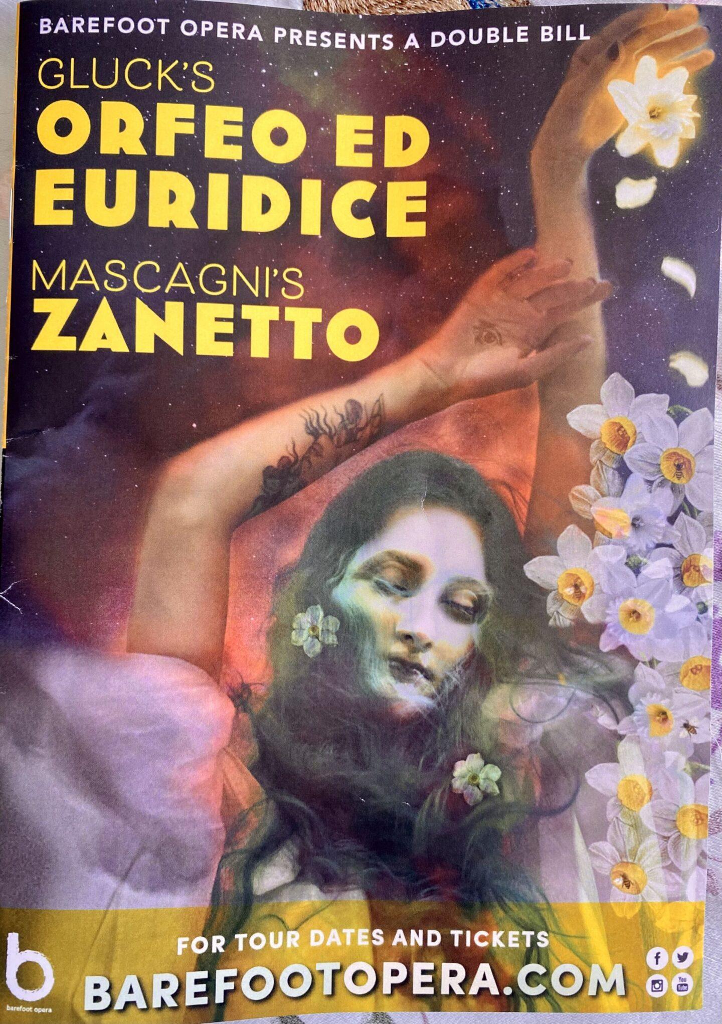 Barefoot Opera – Orfeo and Zanetto